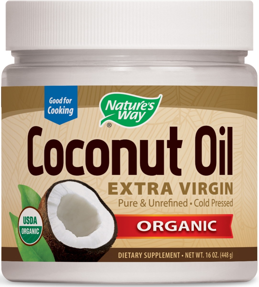EfaGold Coconut Oil 16 oz by Nature's Way