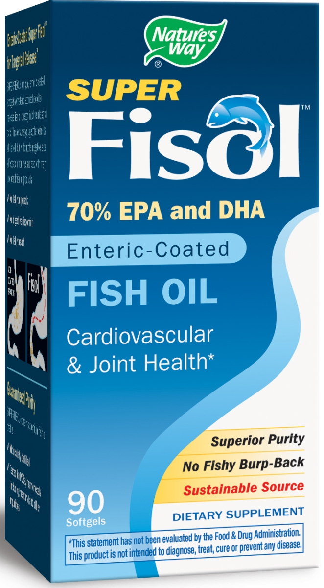 Super Fisol Fish Oil 90 sgels by Nature's Way