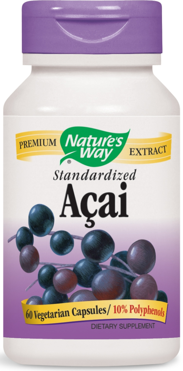 Acai Standardized Extract 60 Vcaps by Nature's Way