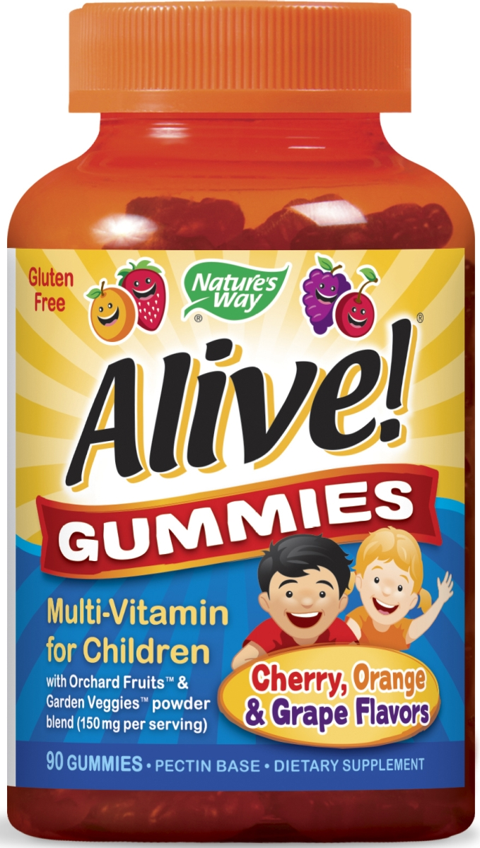 Alive! Gummies Multi-Vitamin for Children 90 Gummies by Nature's Way