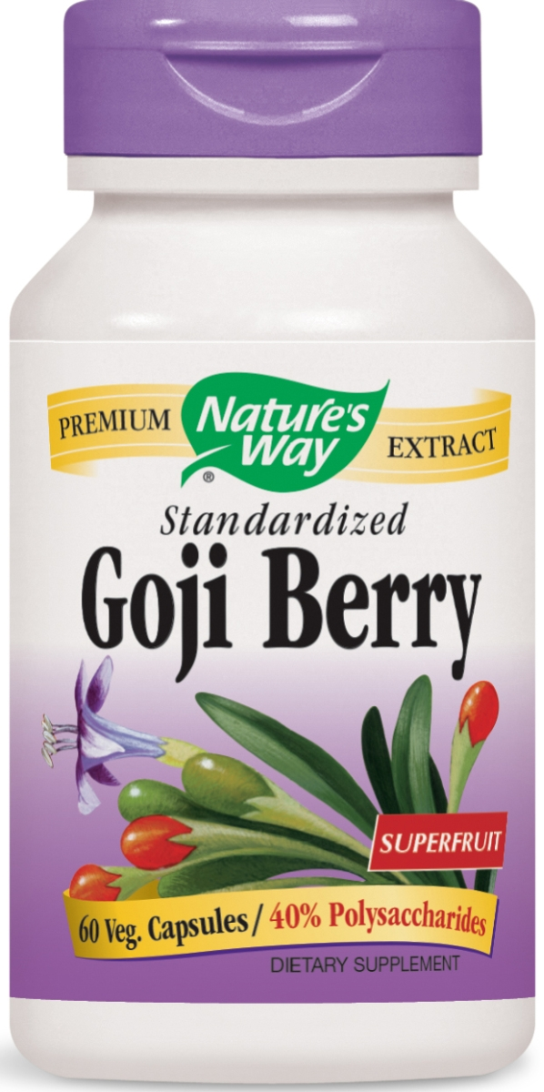 Goji Berry Standardized Extract 60 Vcaps by Nature's Way