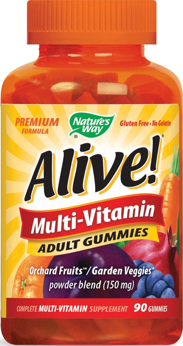 Alive! Multi-Vitamin Adult Gummies 90 Gummies by Nature's Way