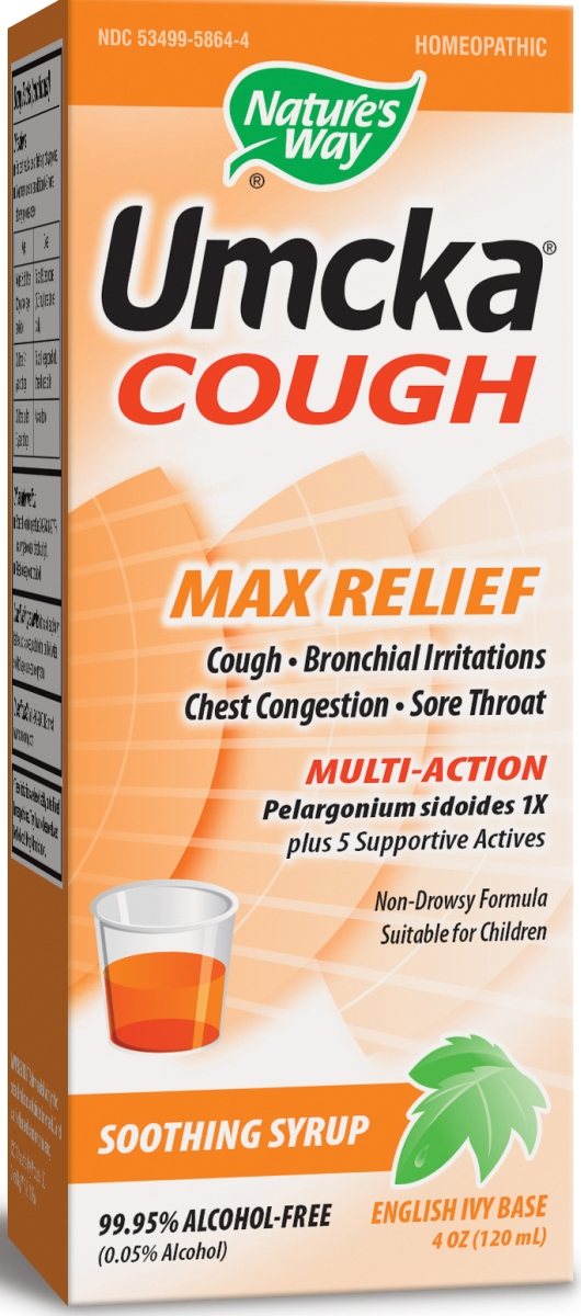 Umcka Cough Max Relief 4 oz (120 ml) by Nature's Way