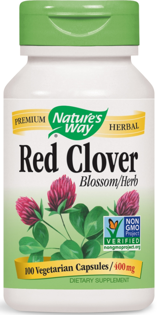 Red Clover Blossom & Herb 400 mg 100 caps by Nature's Way