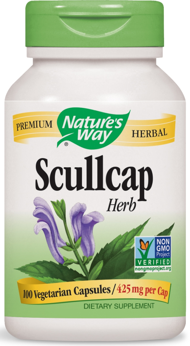 Scullcap Herb 425 mg 100 caps by Nature's Way