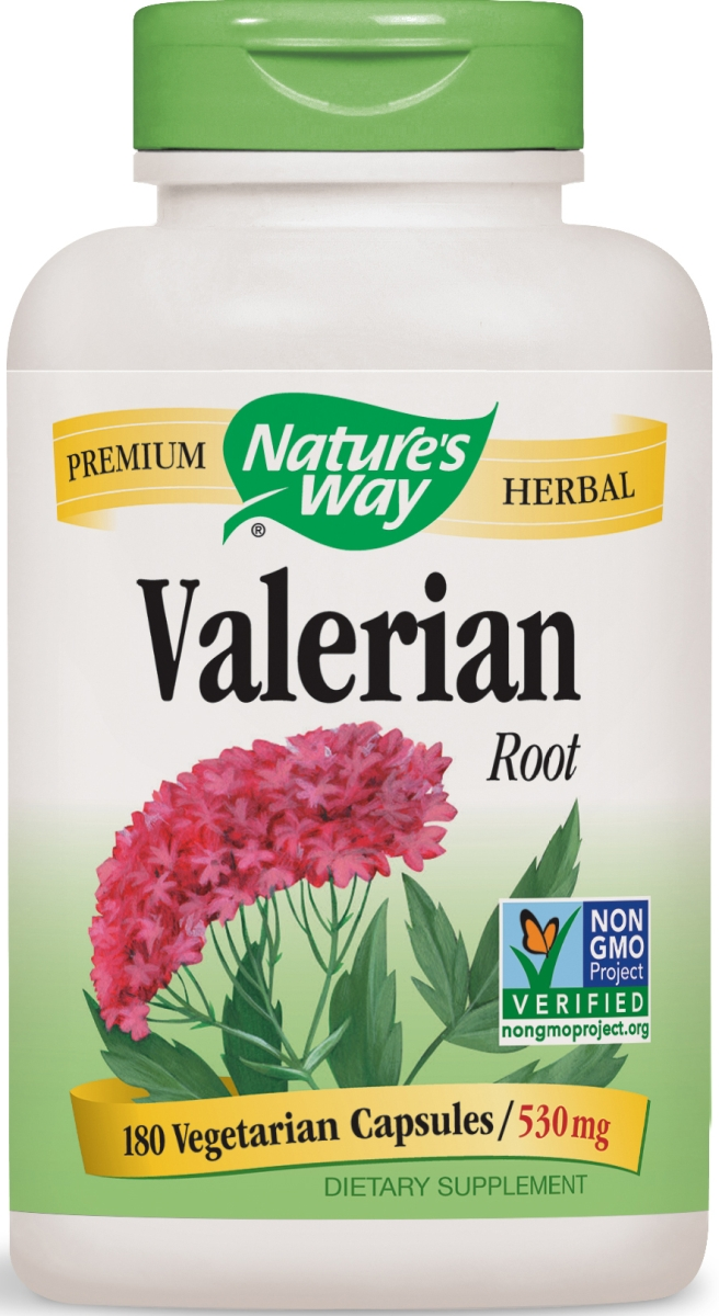 Valerian Root 530 mg 180 caps by Nature's Way