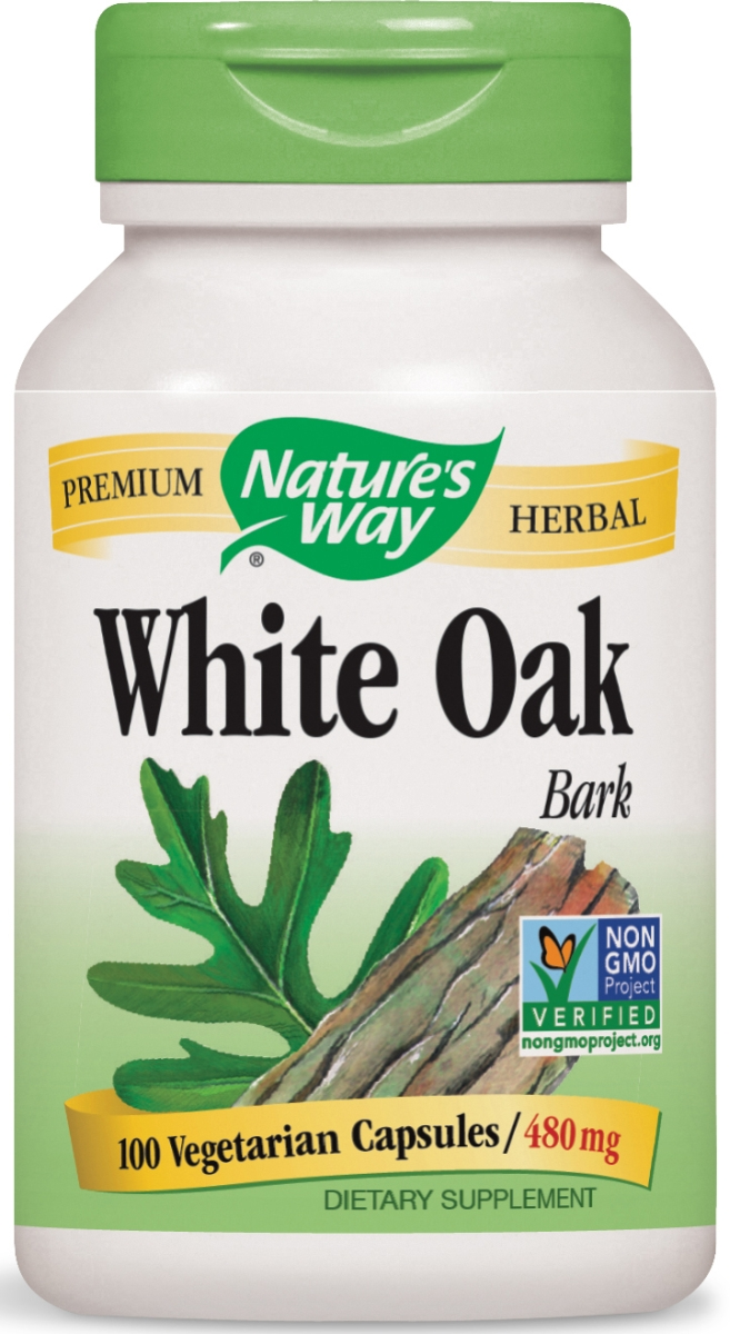 White Oak Bark 480 mg 100 caps by Nature's Way