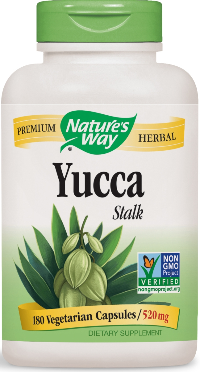 Yucca Stalk 520 mg 180 caps by Nature's Way