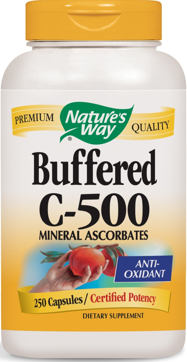 Buffered C-500 250 caps by Nature's Way