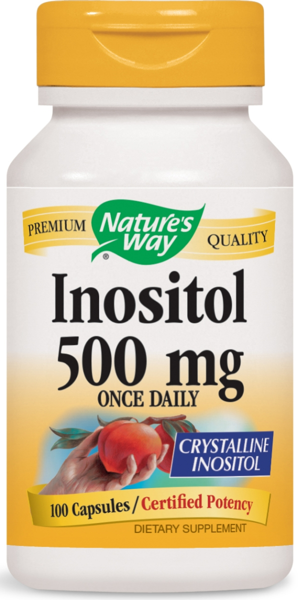 Inositol 500 mg 100 caps by Nature's Way