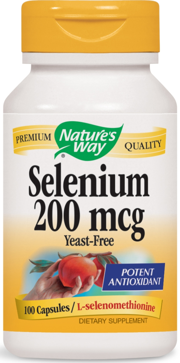 Selenium Yeast-Free 200 mcg 100 caps by Nature's Way