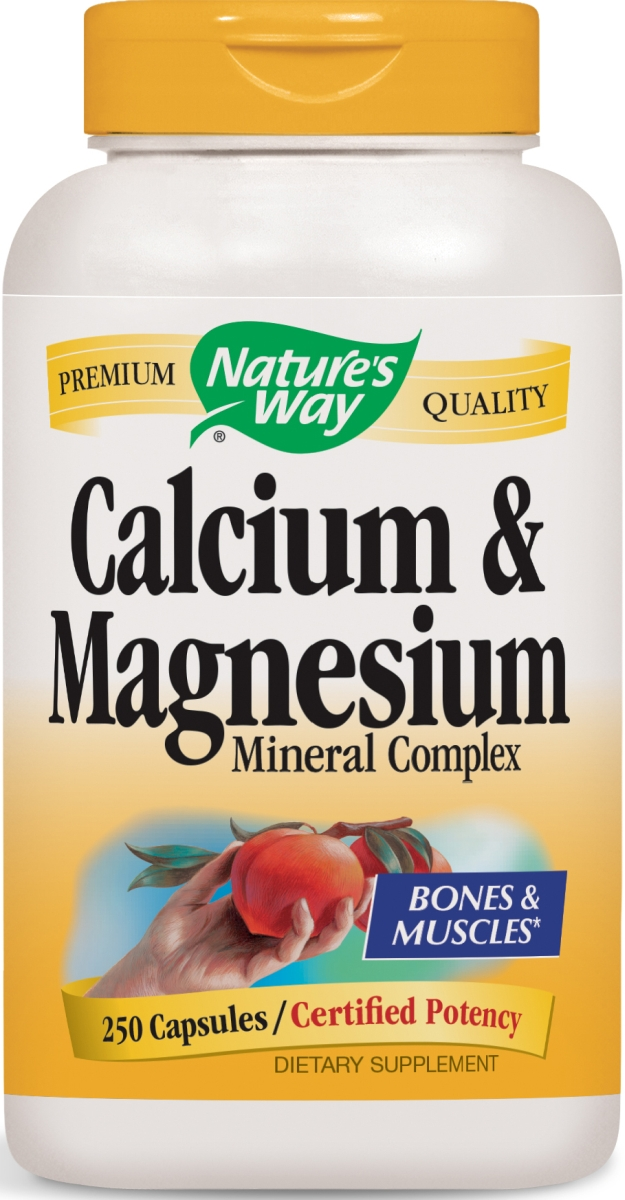 Calcium & Magnesium Mineral Complex 250 caps by Nature's Way