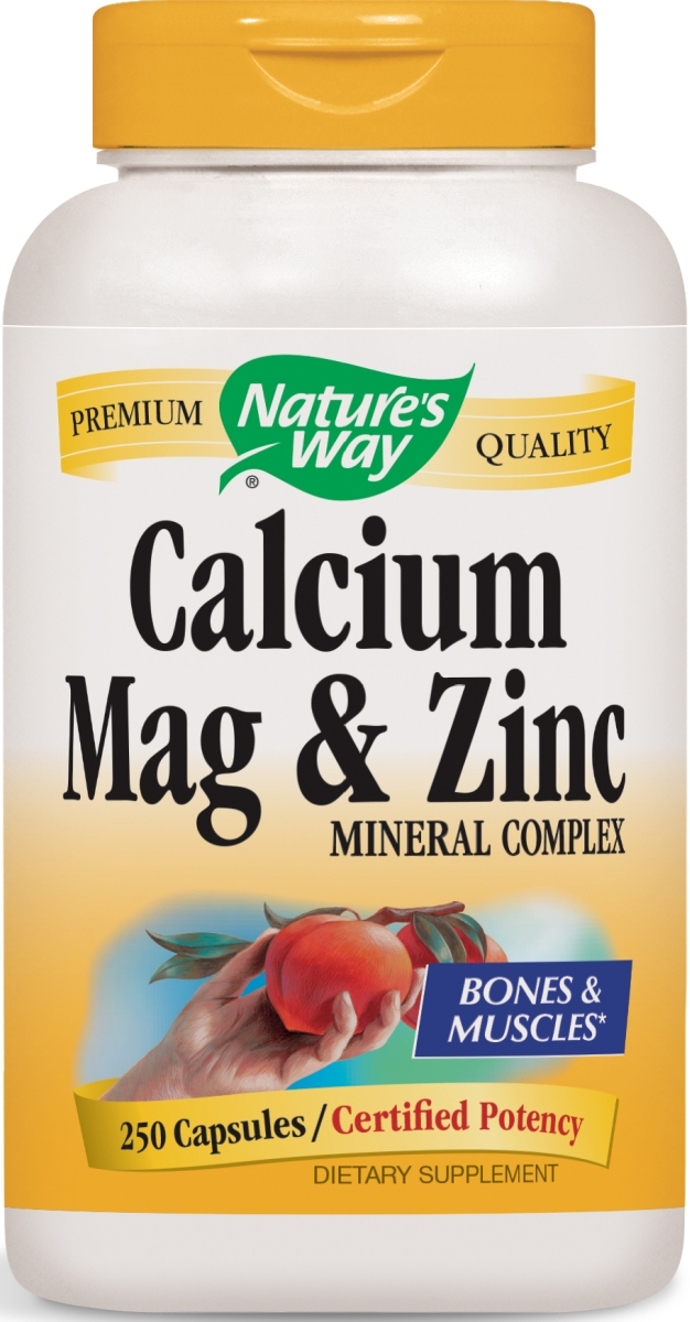 Calcium Mag & Zinc Mineral Complex 250 caps by Nature's Way