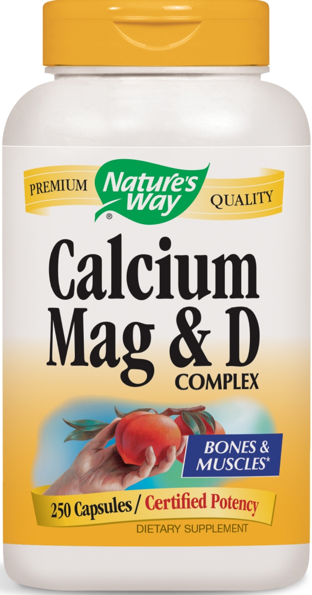 Calcium Mag & D Complex 250 caps by Nature's Way