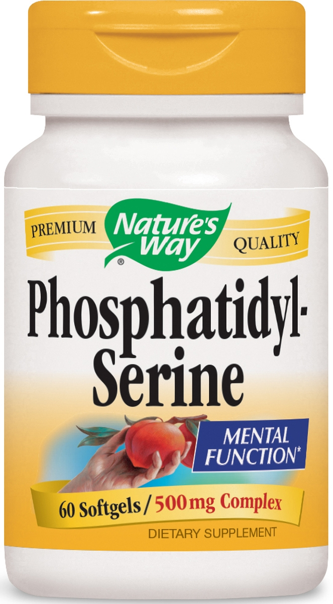 Phosphatidylserine Complex 500 mg 60 sgels by Nature's Way
