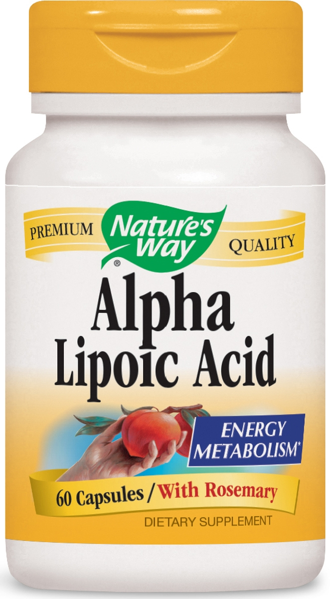 Alpha Lipoic Acid Plus Rosemary 60 caps by Nature's Way