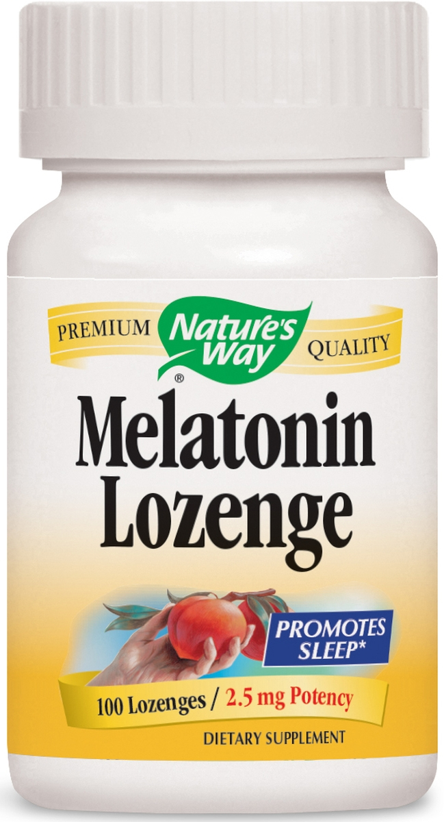 Melatonin Lozenge 2.5 mg 100 Lozenges by Nature's Way