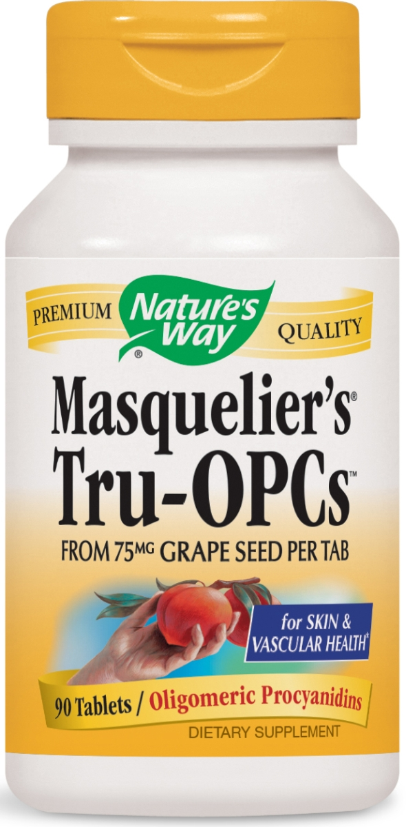 Masquelier's Tru-OPCs 75 mg 90 tabs by Nature's Way