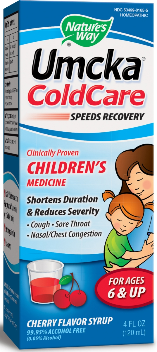Umcka ColdCare Children's Cherry Flavor Syrup 4 fl oz (120 ml) by Nature's Way