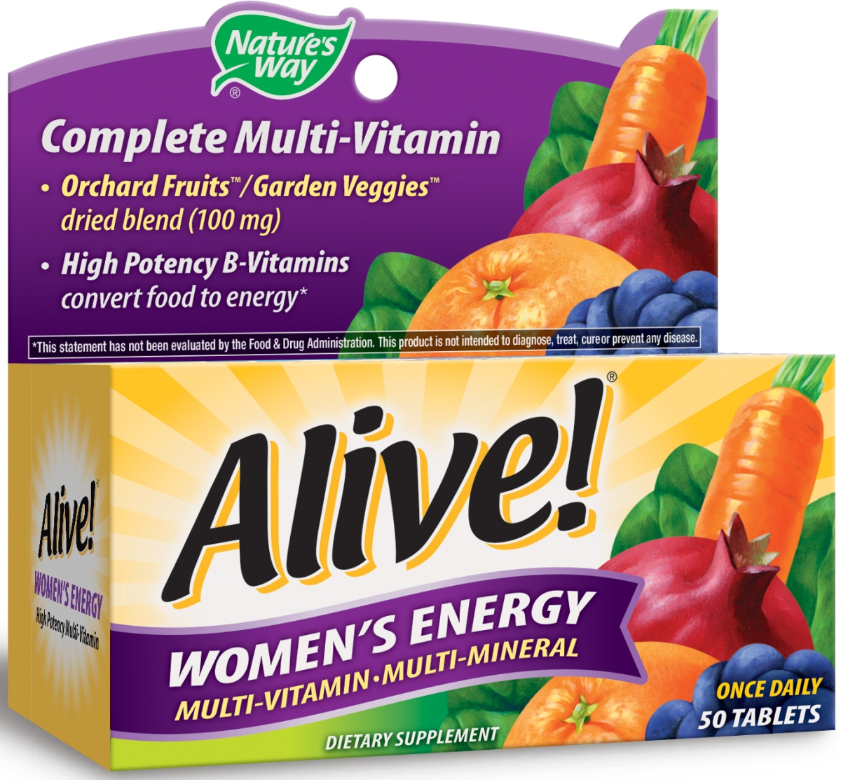 Alive! Women's Energy 50 tabs by Nature's Way