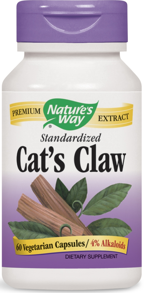 Cat's Claw Standardized Extract 60 caps by Nature's Way
