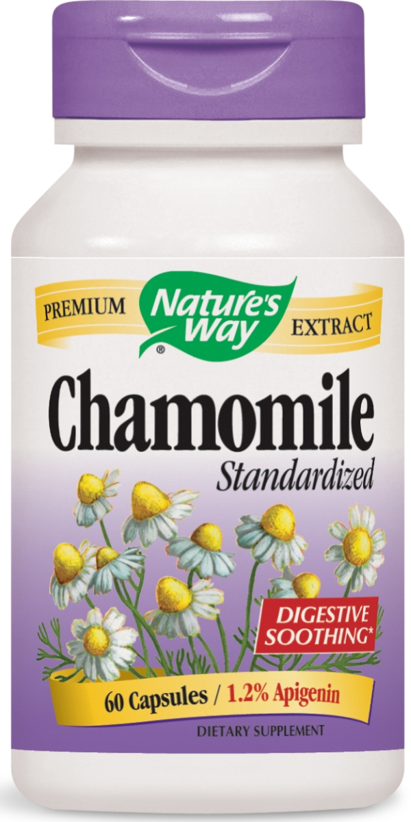 Chamomile Standardized Extract 60 caps by Nature's Way