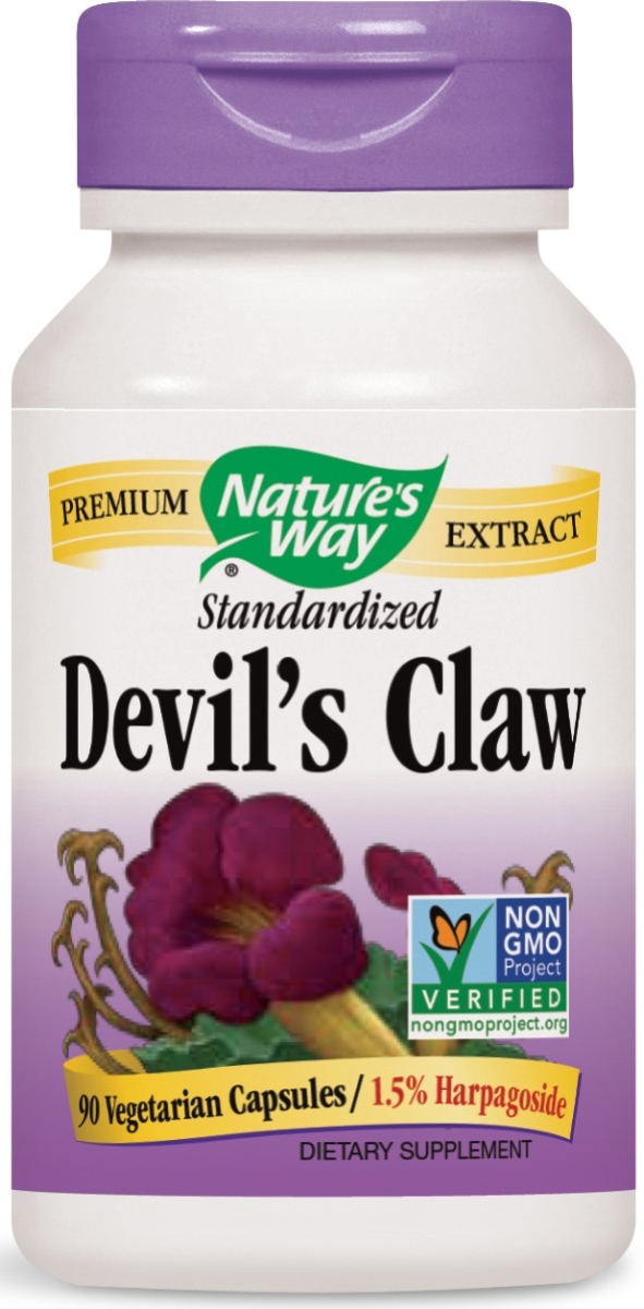 Devil's Claw Standardized Extract 90 caps by Nature's Way