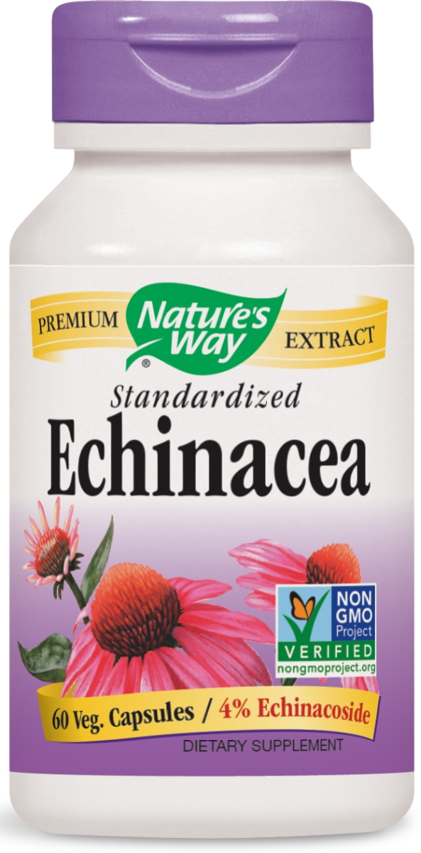 Echinacea Standardized Extract 60 caps by Nature's Way