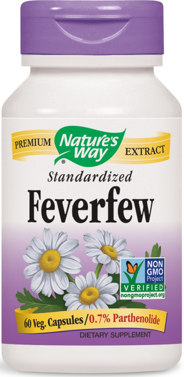 Feverfew Standardized Extract 60 caps by Nature's Way