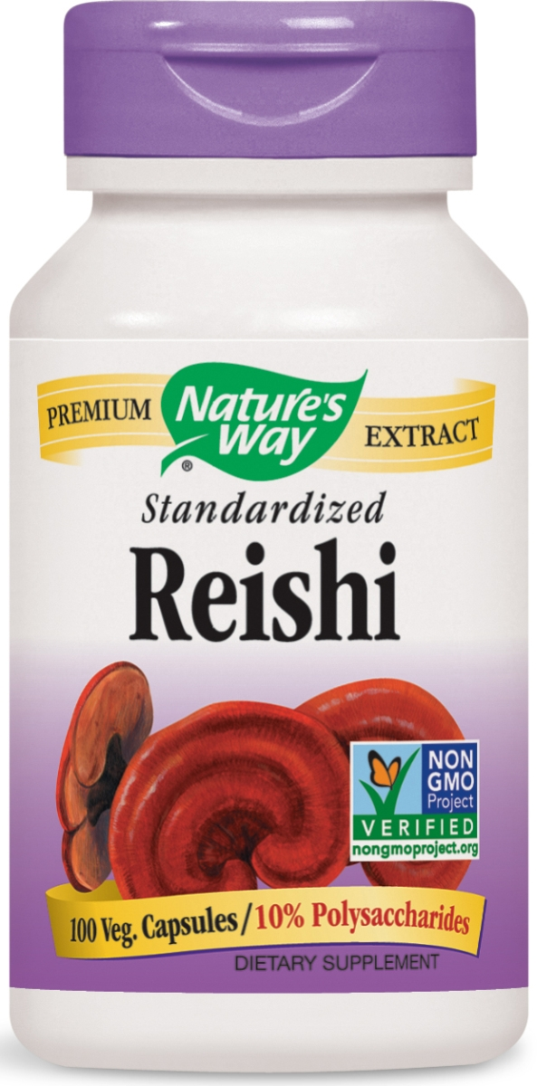Reishi Standardized Extract 100 caps by Nature's Way