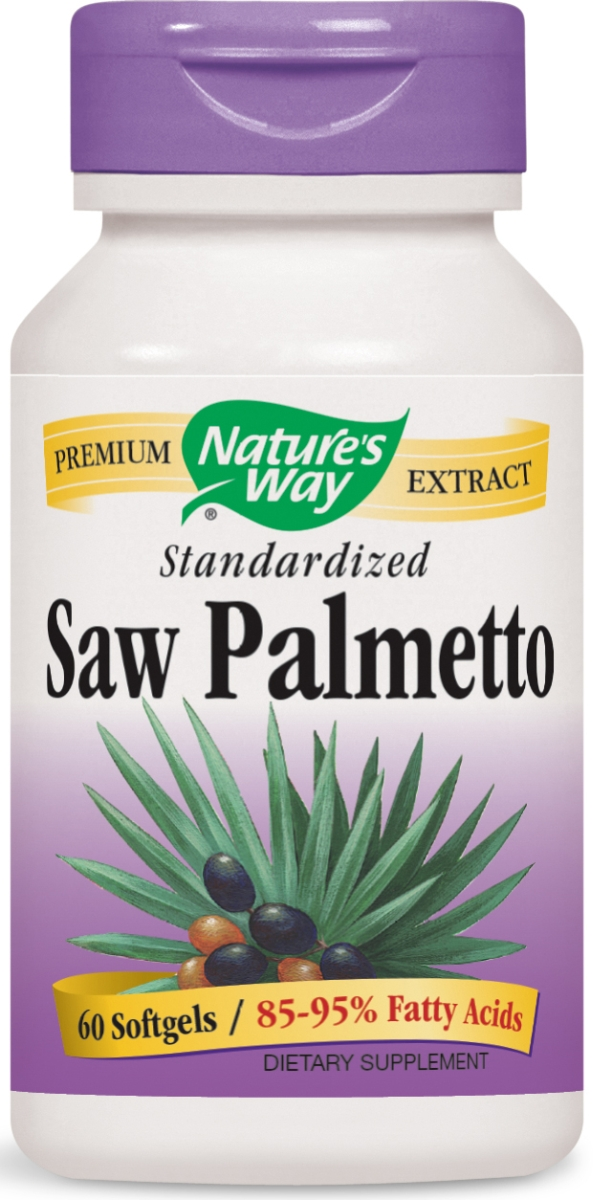 Saw Palmetto Standardized Extract 60 sgels by Nature's Way