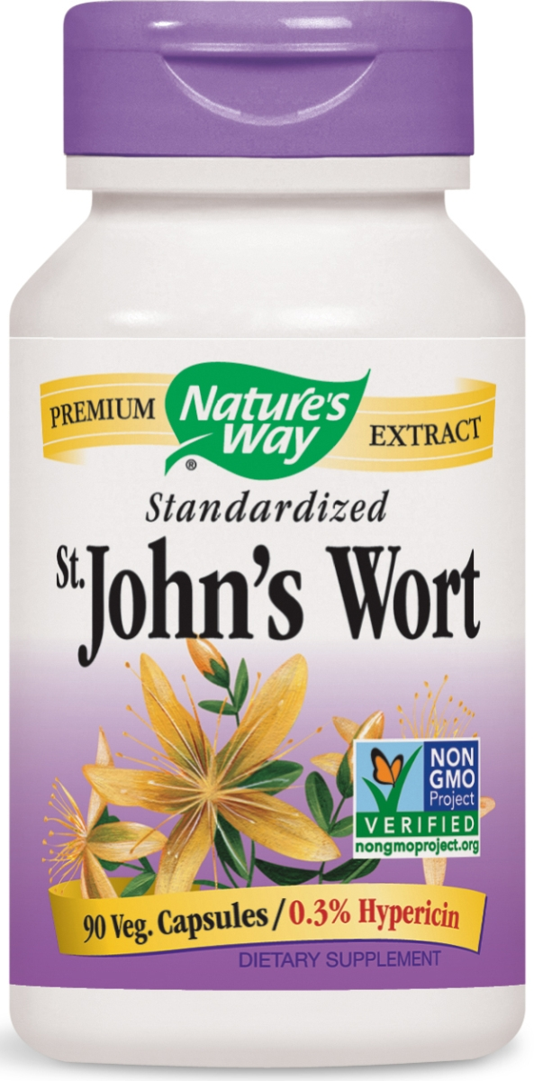 St. John's Wort Standardized Extract 90 caps by Nature's Way
