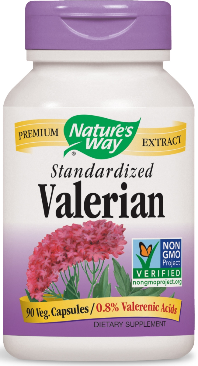 Valerian Standardized Extract 90 caps by Nature's Way