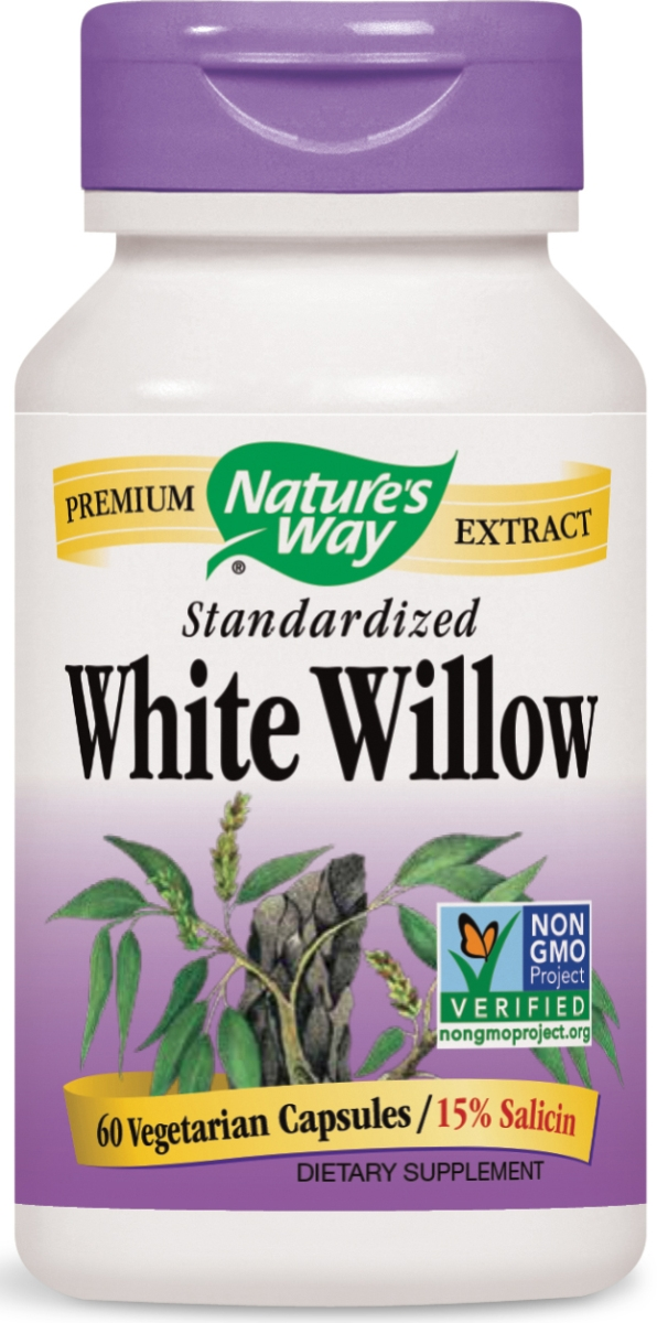 White Willow Standardized Extract 60 caps by Nature's Way