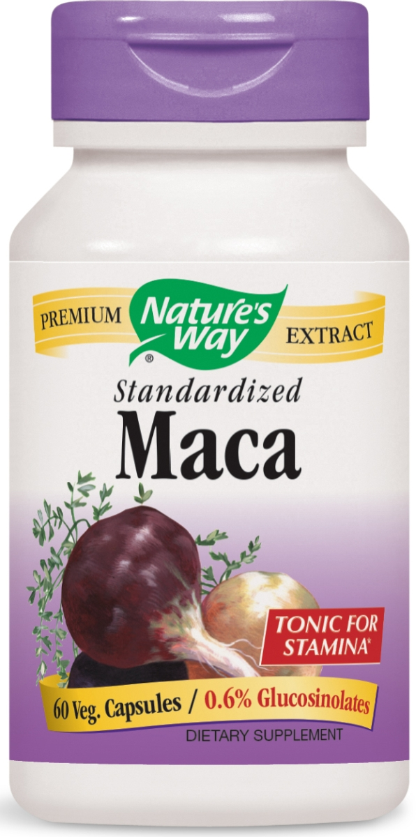 Maca Standardized Extract 60 caps by Nature's Way