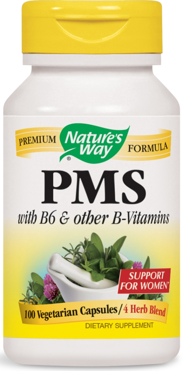 PMS with Vitamin B6 & 5-HTP 418 mg 100 caps by Nature's Way