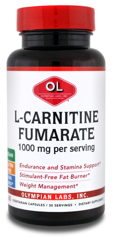 L-Carnitine 1000 mg 60 caps by Olympian Labs