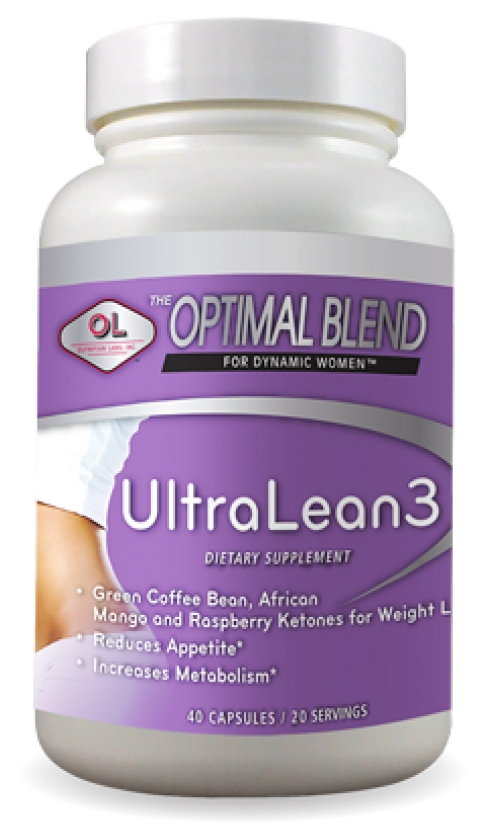 Optimal Blend for Dynamic Women UltraLean3 40 caps by Olympian Labs