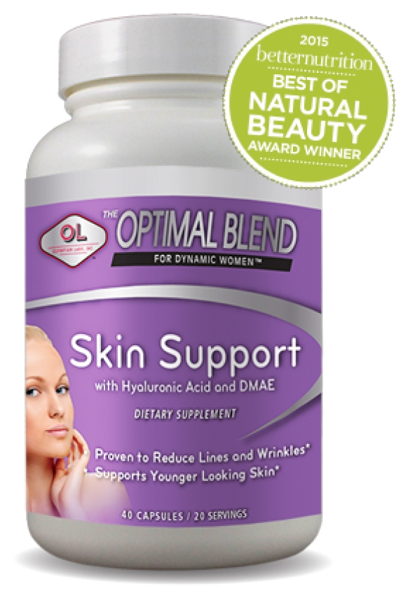 Optimal Blend for Dynamic Women Skin Support 40 caps by Olympian Labs