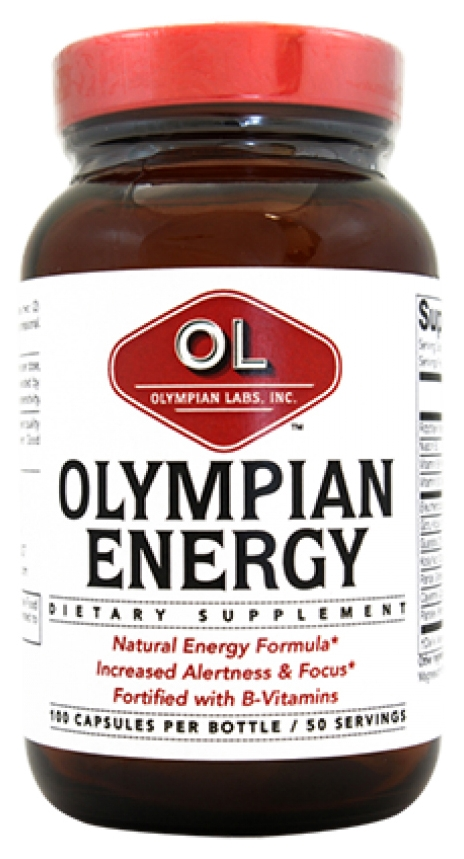 Olympian Energy 100 caps by Olympian Labs