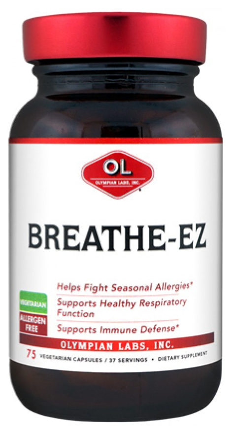 Breathe-EZ (formerly Aller-G Formula 25) 75 vege caps by Olympian Labs