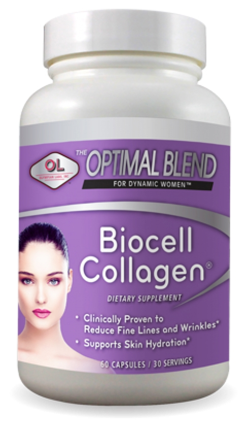 Optimal Blend for Dynamic Women Biocell Collagen 60 caps by Olympian Labs