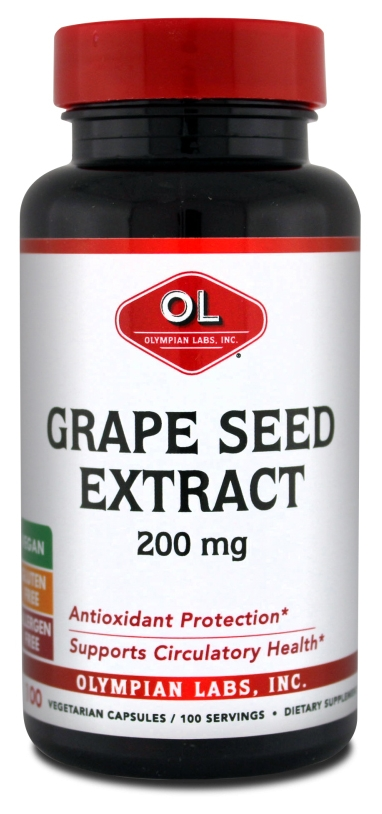 Grape Seed Extract 200 mg 100 caps by Olympian Labs