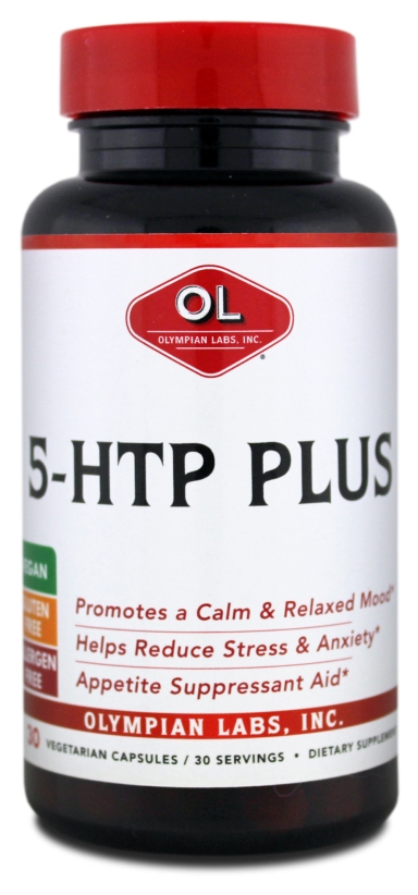5-HTP Plus 100 mg 30 Vegetarian Caps by Olympian Labs