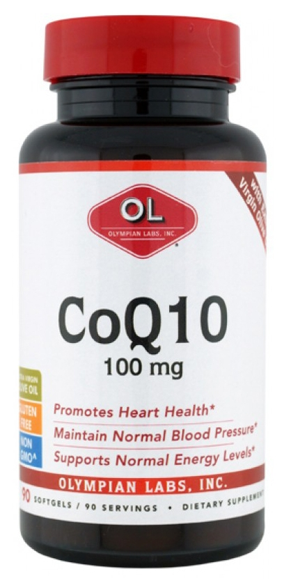 CoQ10 100 mg 90 sgels by Olympian Labs