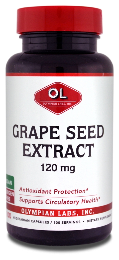 Grape Seed Extract 120 mg 100 caps by Olympian Labs