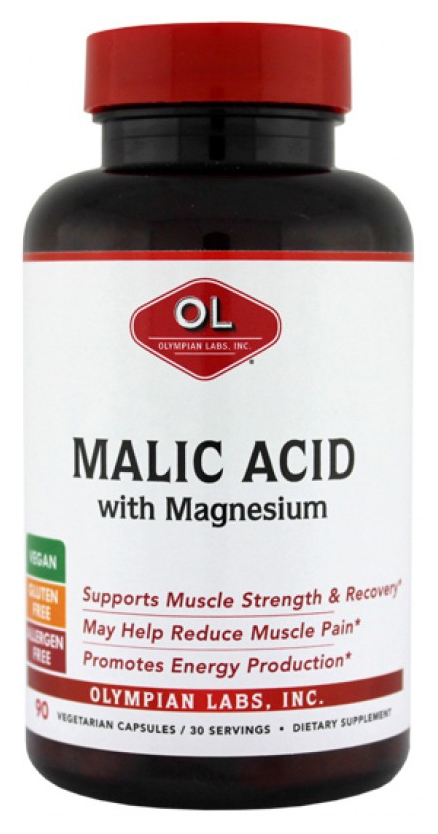 Malic Acid with Magnesium 90 caps by Olympian Labs