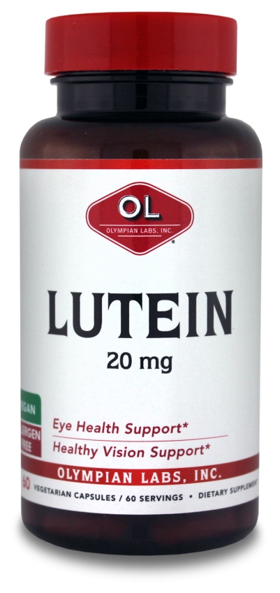 Lutein 20 mg 60 caps by Olympian Labs