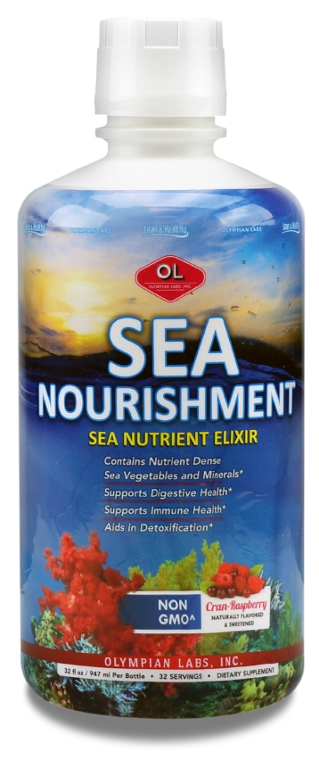 Sea Nourishment 32 fl oz (947 ml) by Olympian Labs