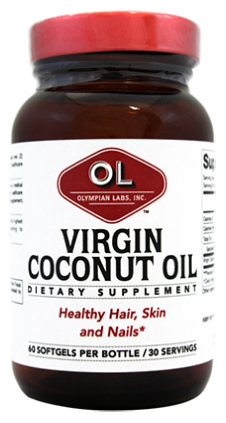 Virgin Coconut Oil 60 sgels by Olympian Labs